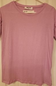 Lilac Short Sleeve Top